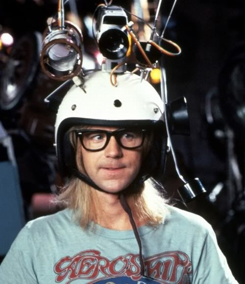 Dana Carvey- Wayne's World, party on, excellent!!!