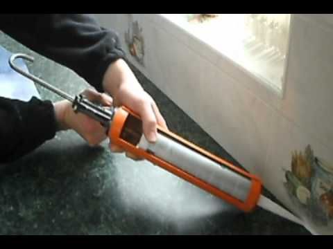 How To Remove Apply Silicone Sealant Caulk Use Wd40