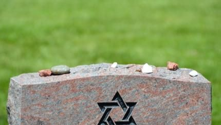 "Why Do Jews Put Stones on Graves? Let's take a closer look at this Jewish tradition since ancient times of leaving stones or pebbles on a grave, and some common explanations or interpretations for this practice.  And by the way learn also about ""sitting shiva"": Shiva (שבעה literally ""seven""): What You Need to Know  ✤ http://www.myjewishlearning.com/article/shiva-what-you-need-to-know/"