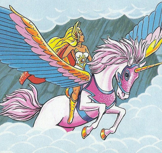 She-Ra- Princess of Power!!! I had one these growing up at my grandparents house! One of the best toys growing up!