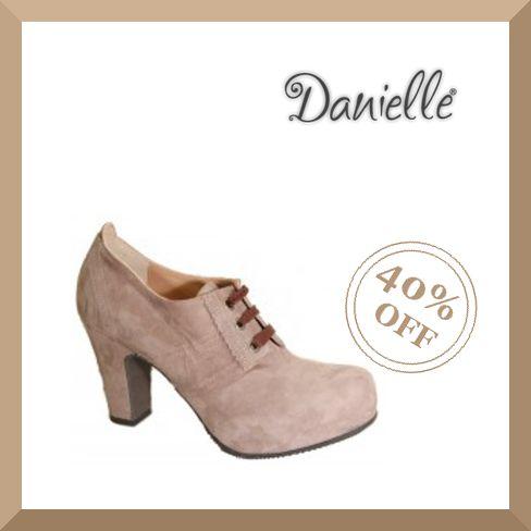 ♢ SALDI ♢  Eleganti #scarpe in camoscio con #tacco e lacci a -40%. SHOP NOW!!!  La #spedizione in tutta Italia è GRATUITA!!!