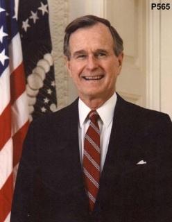 George Herbert Walker Bush -   41st U.S. President 1989- 1993