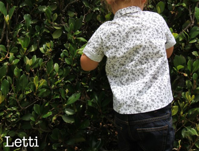 Have your little boy looking his best with this fresh 'Cookies & Cream' button-up!   www.letti.com.au