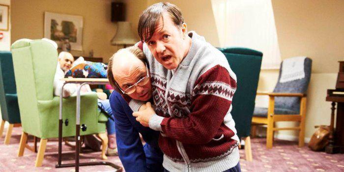 "David Earl From Derek | Main Cast: Ricky Gervais, Kerry Godliman, Karl Pilkington, David Earl... LOOOL! DEREK... ""I'M STRONG AND GRABBY"""