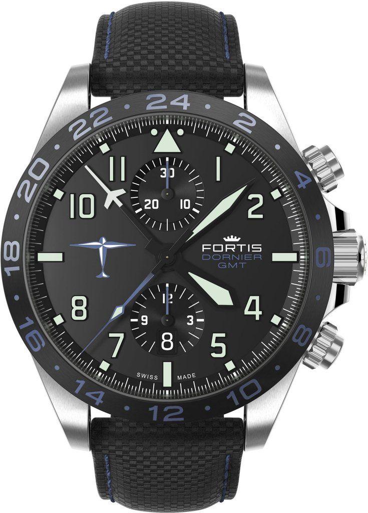 Fortis Watch Aviatis Dornier GMT #add-content #bezel-fixed…