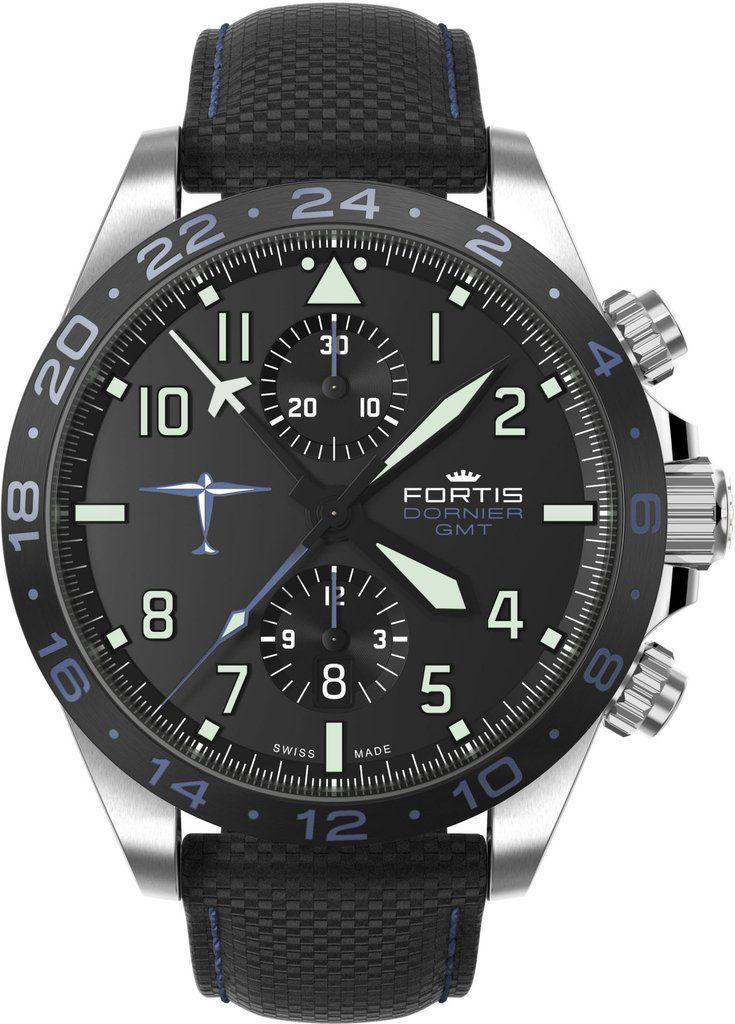 Fortis Watch Aviatis Dornier GMT #add-content #bezel-fixed… http://www.thesterlingsilver.com/product/seiko-5-watches-bracelet-male-stainless-steel-gold-gold-stainless-steel/