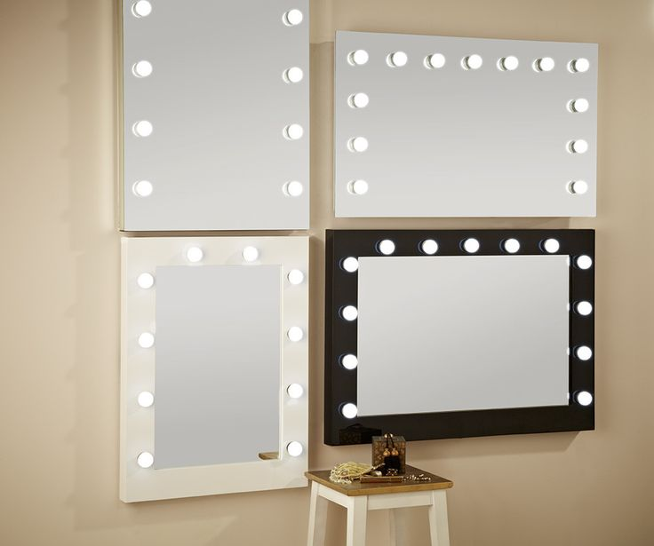 Hollywood Lights Bathroom: 17 Best Ideas About Mirror With Light Bulbs On Pinterest
