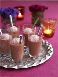 Perfect pudding: Fruity shots
