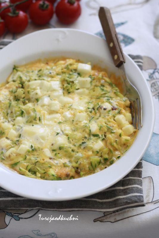 Turcja od kuchni: Omlet z cukinią i serem hellim/halloumi