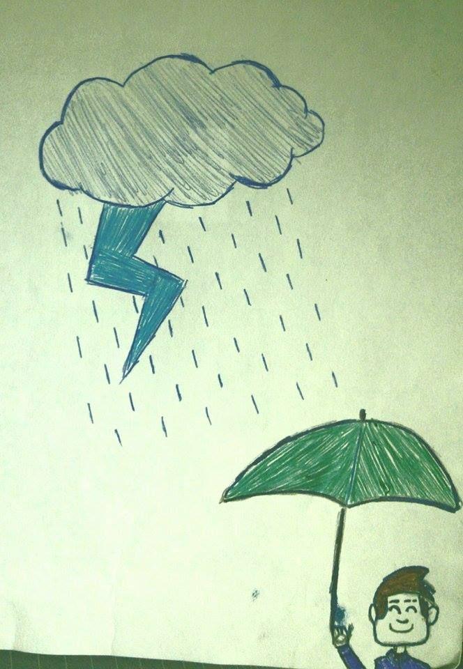 #Inktober #Inktober2015 Rainy Day