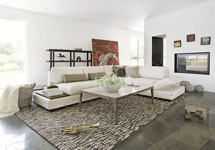 Corner sofa / modular / contemporary / fabric CARTAGO Furninova AB