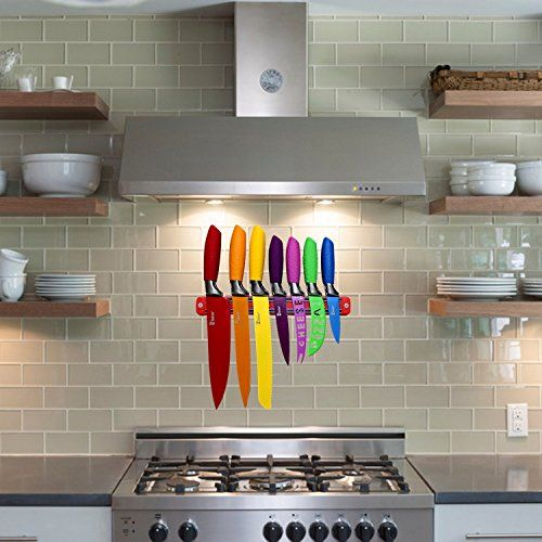 Finally! A Non-boring Color Multipurpose Kitchen Knife Set That Will Brighten Up Your Cooking Work!   Are you looking for superior and ornamental knives that will not only accessorize your kitchen but will also make you efficient when cooking? Or maybe you need a kitchen gadget set as a gift for a