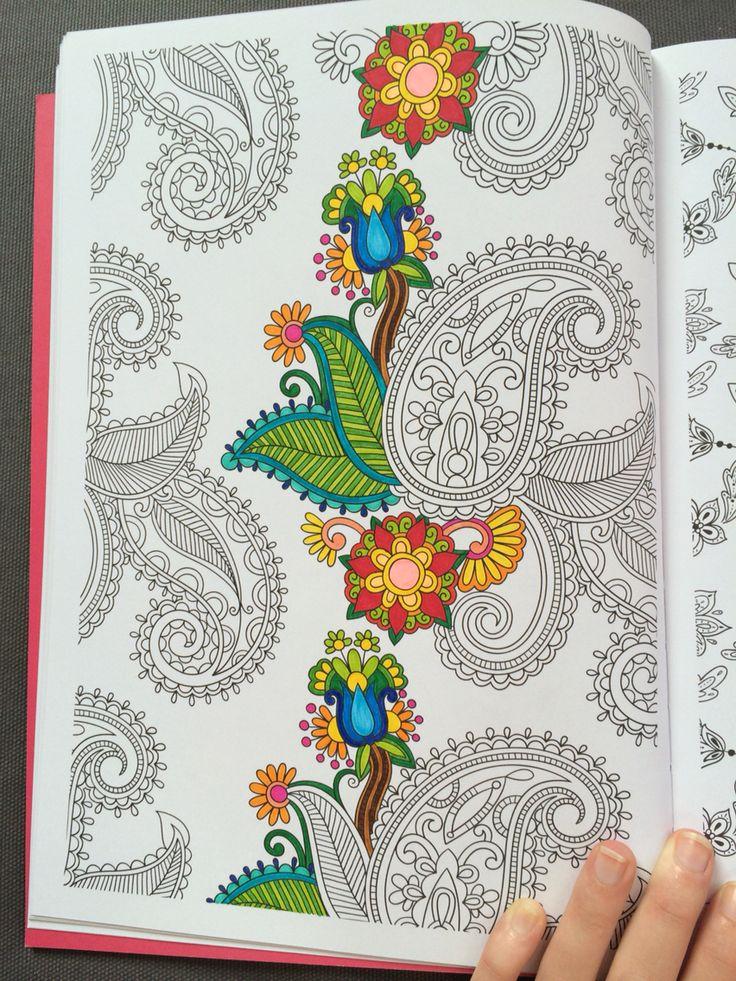 Work un progress coloriage art th rapie 100 coloriages - Coloriage anti stress cultura ...
