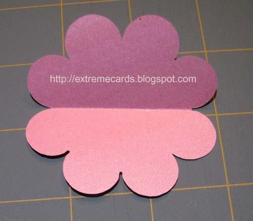 template for table runner tissue paper flowers