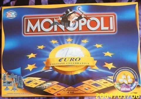 """Monopoly Euro edition"""