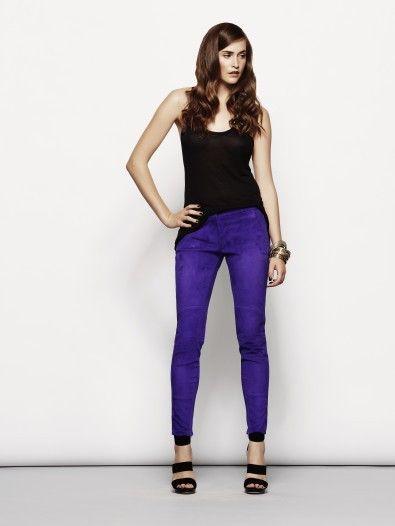 DIMITRI SS14 - leather pants