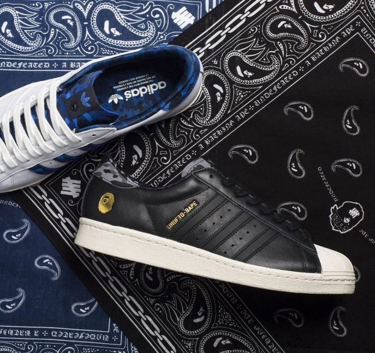 new styles 73916 f2f8b Bape x UNDFTD adidas Originals Superstar