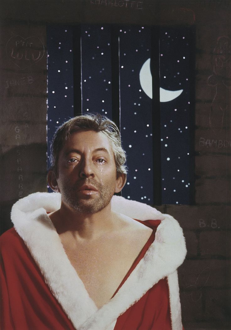 Gainsbarre (1988). Serge Gainsbourg, cover of Télérama magazine by Pierre et Gilles