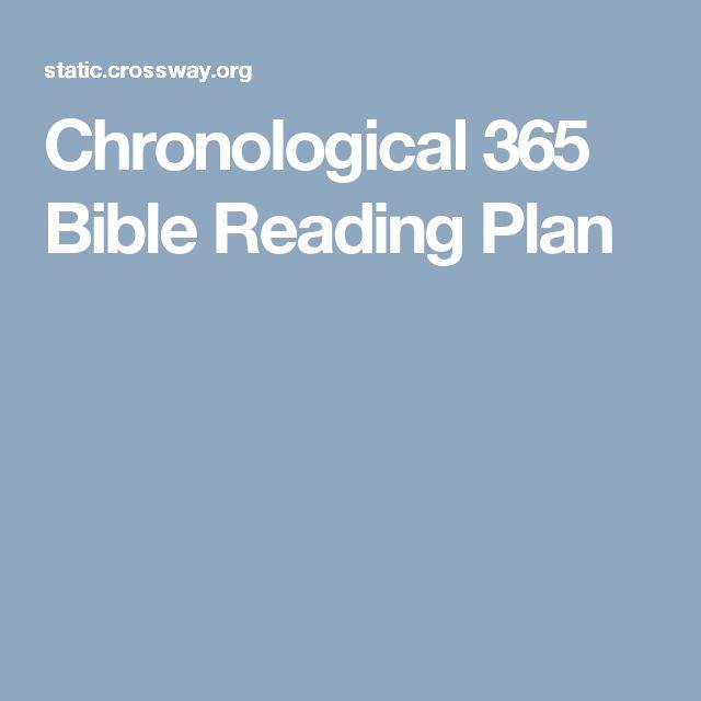 Best 25+ Chronological bible reading plan ideas on Pinterest - example of chronological order