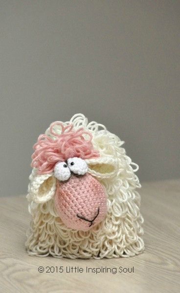 crochet sheep pattern ༺✿ƬⱤღ✿༻