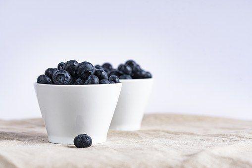 Blueberry, Jagody, Owoców, Kubki