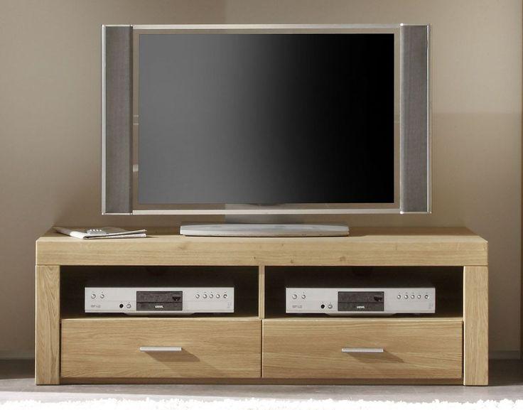 Tv Unterteil Eiche Teilmassiv Woody 19 00563 Holz Modern Jetzt Bestellen Unter Moebelladendirektde Wohnzimmer Hifi Moebel Lowboards Uid
