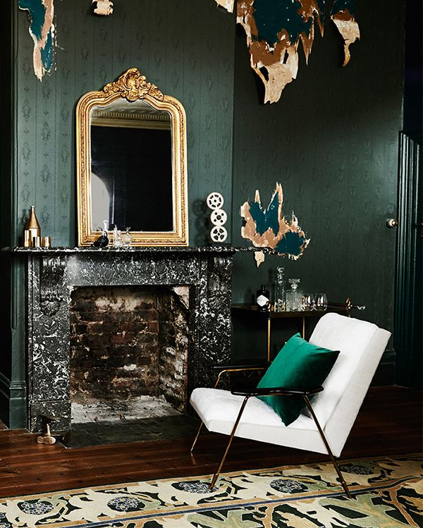 4// FUTURE PAST Future Past takes its cues from steampunk merging with modern design – creating a new version of the old. Deep and decadent traditional hues are made modern with the addition of mustard, pink and purple. #greenliving