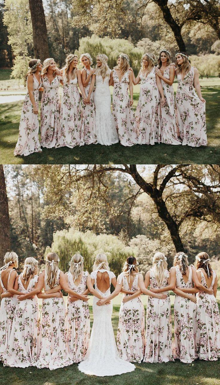 V-Back Bridesmaid Dress, Chiffon Bridesmaid Dress, Dress for Wedding, Sleeveless Bridesmaid Dress#bridesmaid#bridesmaids#bridesmaiddress