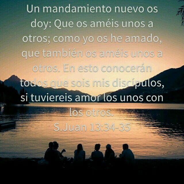 Juan 13:34—35