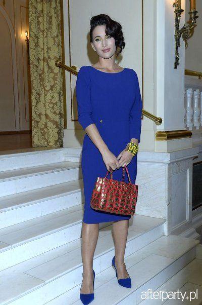 Justyna Steczkowska w sukience ARYTON jesień-zima 2013/2014