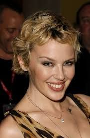 Image result for kylie minogue short curly hair