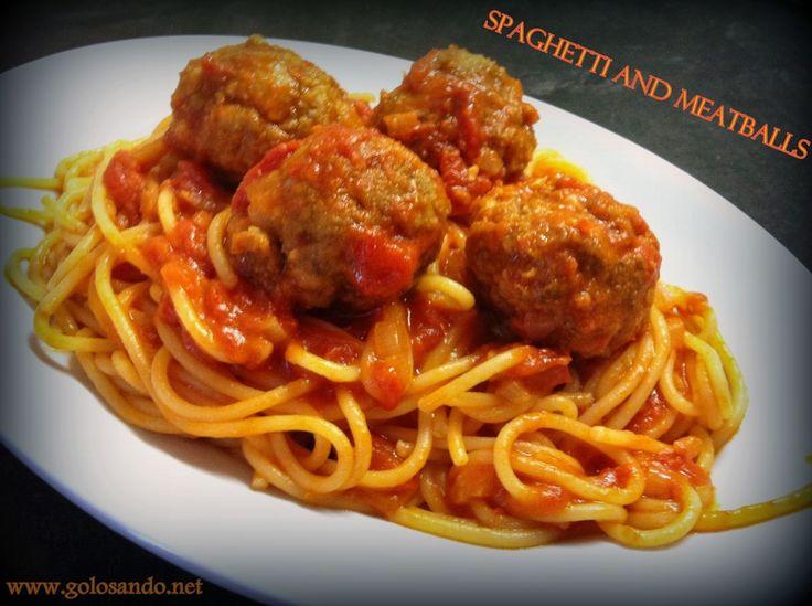 spaghetti al sugo con polpettine di carne - Google Search