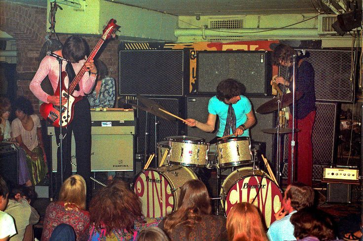 Pink Floyd at The Scene, NYC, July 1968