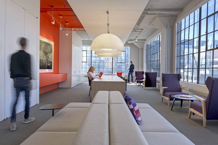 Gensler has recently completed the design of a new office for Office design firm
