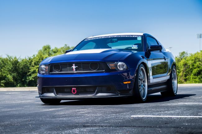 Late Model Restoration S Kona Blue 2011 Ford Mustang Is The
