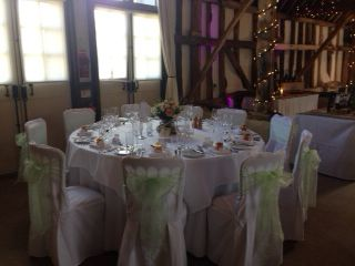 Peppermint green chair cby Fuschia at Clock Barn- great for a vintage  / country wedding by www.fuschiadesigns.co.uk