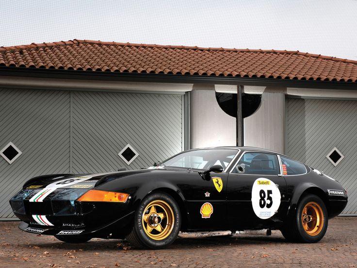 Ferrari Daytona Racecar, Production1968–1973, Engine 4,390 cc Colombo V12.