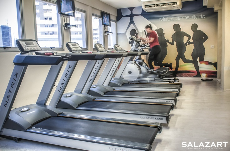 Academia Efeito Personal - Belo Horizonte - Equipamento Cardio Matrix