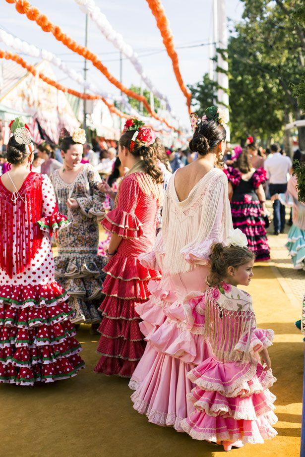 SPAIN / ANDALUSIA / Festivities - Ann Street Studio: Feria de Abril de Sevilla