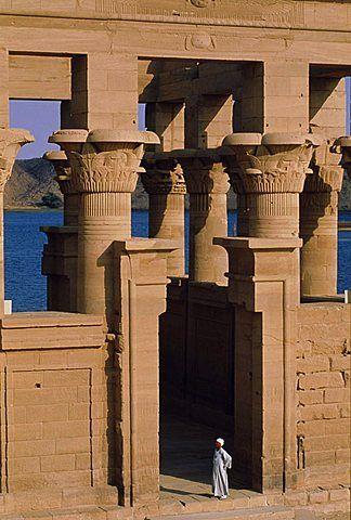 Philae Temple, Aswan, Nubia, Egypt, North Africa