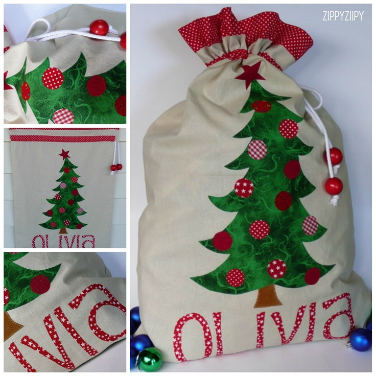 Santa sack...love this