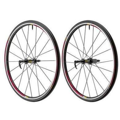 Mavic Aksium S WTS Wheels - Pair 2014 - inc Tyres