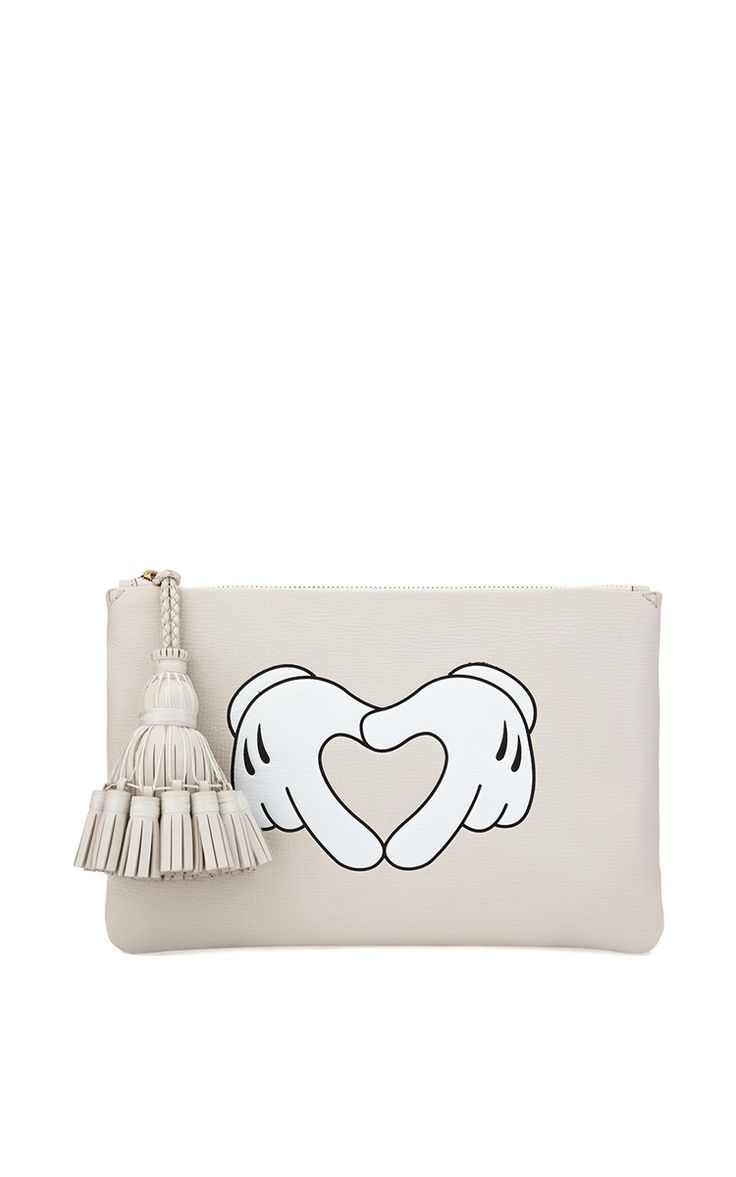 Heart Hands Georgiana Clutch by Anya Hindmarch for Preorder on Moda Operandi