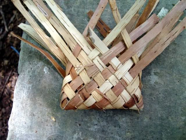 Birch Bark Pouches- How To