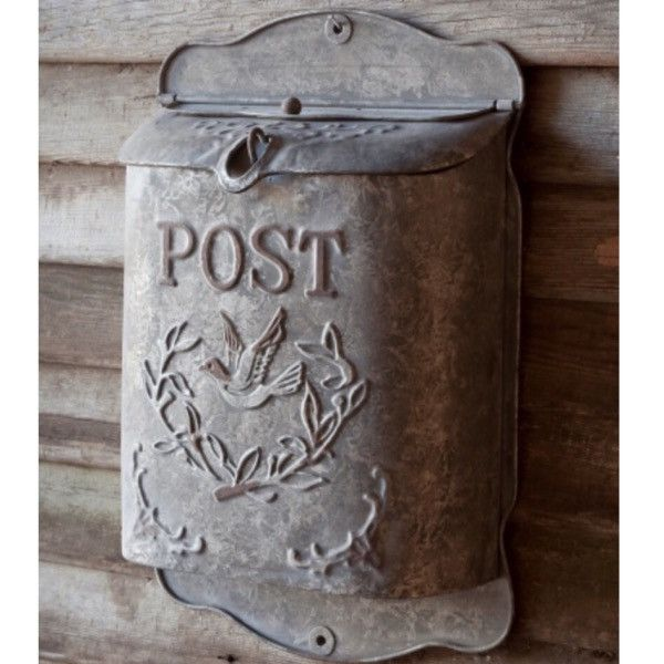 Spruce up your front porch with this vintage post box! This would also look very…