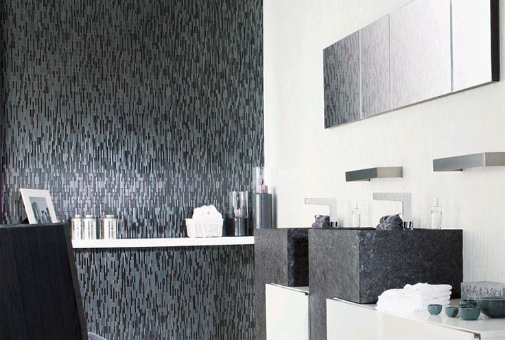 Venis 'Manhattan Negro' Mosaic Look Tile | Brick Effect | Ceramo