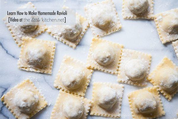 how to make ravioli pasta at home