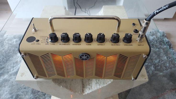 Je loue ce mignon petit ampli pour guitare électro acoustique, parfait pour un…