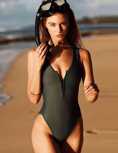 ec8c52d6c60 Women's Sexy Brazilian One-Piece Swimsuit | Summer Fashion | Bathing ...