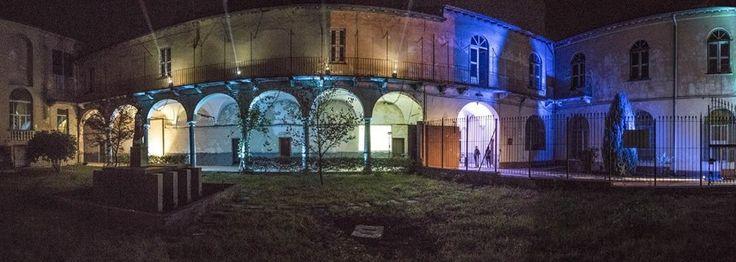 San Salvatore by night, lo splendore del chiostro ritrovato - Foto - La Provincia Pavese